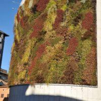 Vertical Garden. Buonconsiglio garage parking, Trento