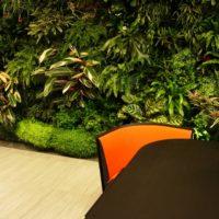 Giardino verticale | Giardino tropicale | Ufficio direttivo