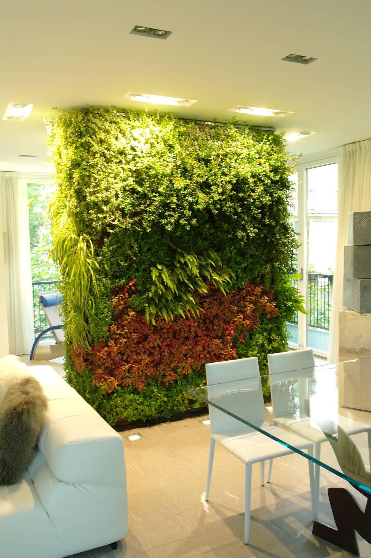 Giardini verticali residenza privata divomi design vivo milano for Giardini verticali milano