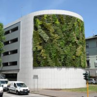 Giardino verticale Autosilo del Buonconsiglio Trento